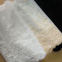 2 Yards of 20cm with Classical Vintage Lace Fabric