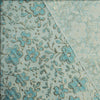 145cm Width Silver and Golden Line Jacquard Floral Fabric by the Yard