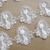 3 Yards of 4.5cm Width Cat in The Mirror Sewing Embellishment Lace Applique