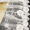 2 Yards of 12cm Width Premium Lolita Floral Embroidery Lace Embellishment Lace