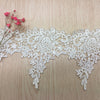 4 Yards x 13cm Width  Retro Sunflower Floral  Water Soluble Chemical Lace Ribbon Tape Lace Applique Lace Motif