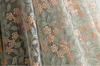 59 inches Width Premium Floral Embroidery Lace Fabric by The Yard