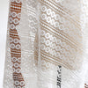130cm Width x 95cm Length Vintage Hollow out Chemical Lace Embroidery Fabric