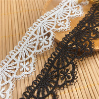 4.5 Yards x 2.6cm Width Retro Floral Lace Ribbon