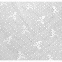 59 inches Width Polka Dot Bow-Knot Lace Fabric by The Yard