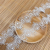 4.5 Yards x 2.7cm Width Retro Floral Lace Ribbon