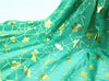 150cm Width Blossom Chiffon Stamp Print Costume Fabric by the Yard