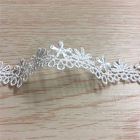 4.5 Yards x 1.7cm Width Retro Floral Lace Ribbon