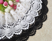 2 Yards of 11cm Width Premium Vintage Embroidered Sewing Lace Embellishment