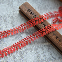 5 Yards of 1.9cm Width Premium Sewing Embellishment Lace Tassel