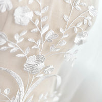 3PCS Wedding Bridal Veil Applique 31x44cm