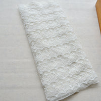 "15"" Width Premium Embroidery Lace Fabric by the Yard"