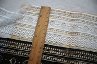 5 Yards of 8.5cm Width Exquisite Stretch Lace Fringe Trim