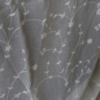 280cm Width Floral Pattern Embroidery Fabric for Curtain Veil by the Yard