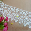 3 Yards of 9cm Width Vintage Embroidery Sewing Lace Embellishment Ribbon