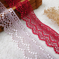 5 Yards of 4.5cm Width Hollow-out Sewing Ribbon Embroidery Embellishment Lace Trim