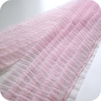 18cm Width 5-tiered Ruffle Lace Fabric by the Yard