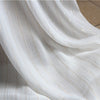 "65"" Width Golden and Silver Lined See-through Chiffon Fabric by the Yard"
