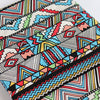 "59"" Width Hit Color Geometric Pattern Linen Fabric by the Yard"