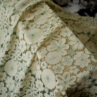 150cm Width x 95cm Length Premium Hollow out Floral  Lace Fabric