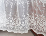 "51"" Width Floral Branches Embroidery Lace Fabric by the Yard"