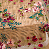 120cm Width Length Premium Floral Embroidery Lace Fabric by the Yard