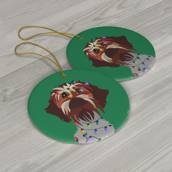 Naughty Dog Ceramic Ornaments