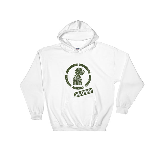 GRU hooded sweatshirt