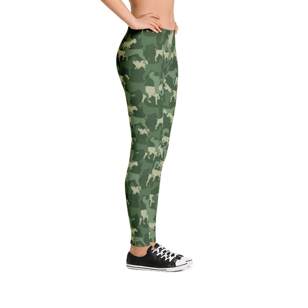 CAMO GREENY leggings (available in Europe)