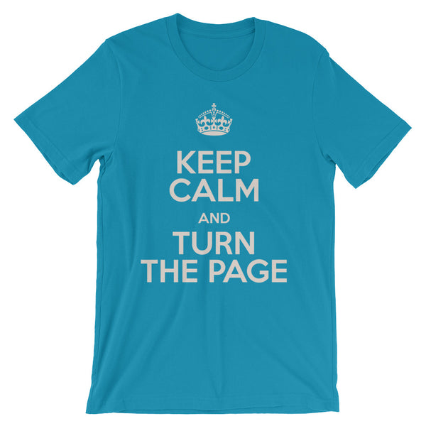 TURN THE PAGE tee