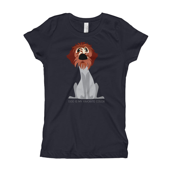DOG COLOR Girl's T-Shirt