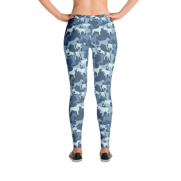 CAMO BLUER leggings (available in Europe)