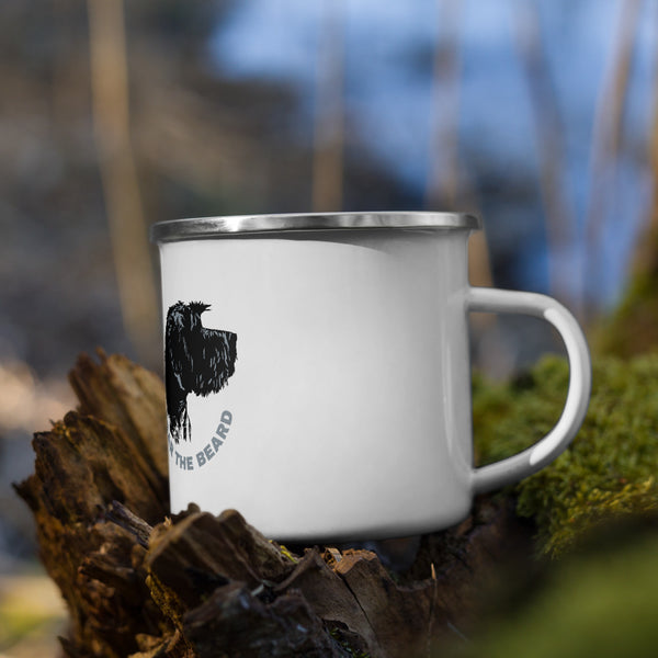 Fear the Beard Enamel Mug