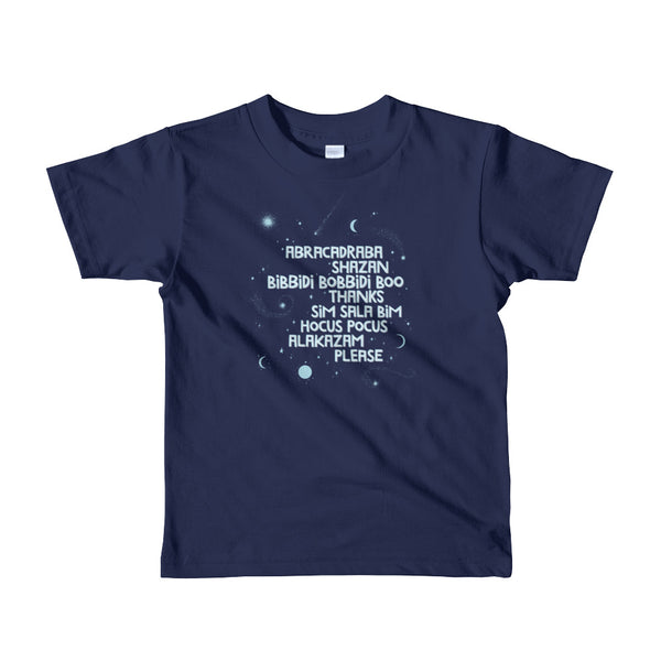 MAGIC WORDS kids tee