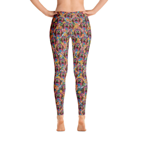 BROWN NOSE leggings (available in Europe)