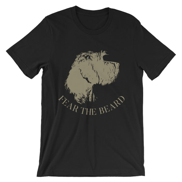 FEAR THE BEARD neutral tee