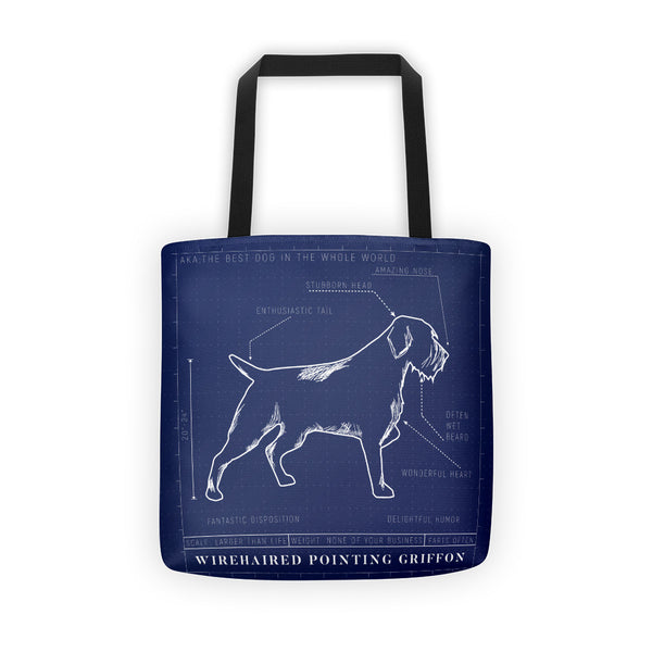 BLUEPRINT GRIFF tote