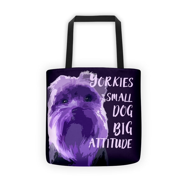 BIG PURPLE tote