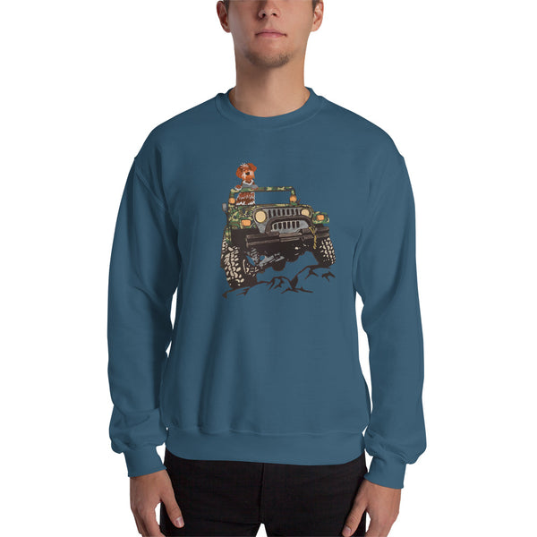 GRIFF ON JEEP sweatshirt