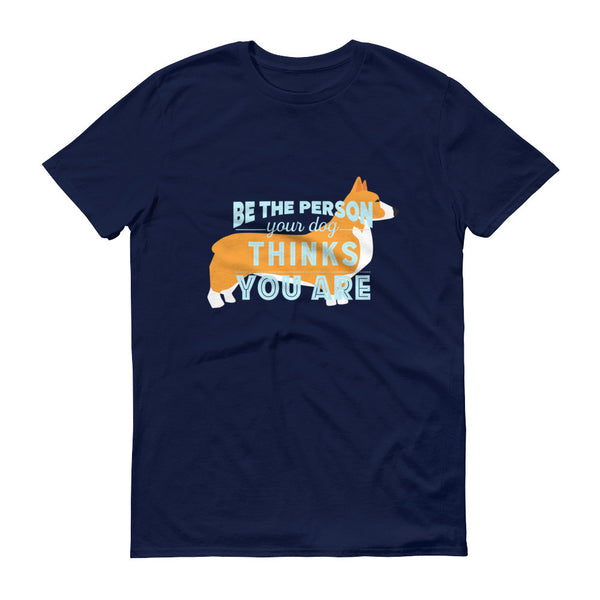 CORGI THOUGHTS tee