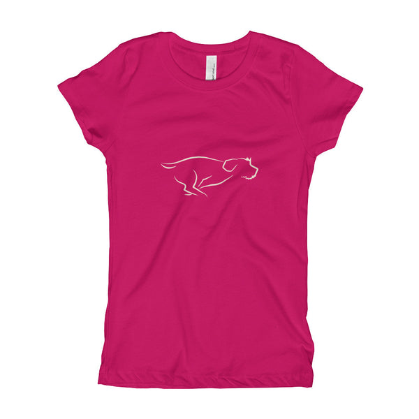 ZOOMIES tee for kids (girl's fit)