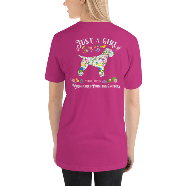 JUST A GIRL tee