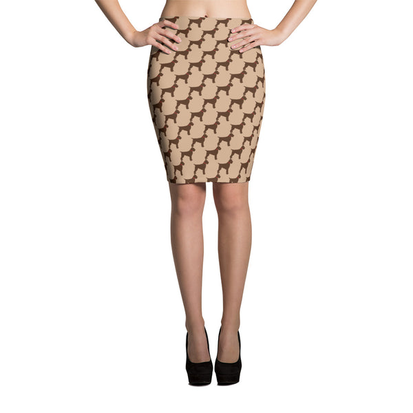 GRIFF PATTERN pencil skirt