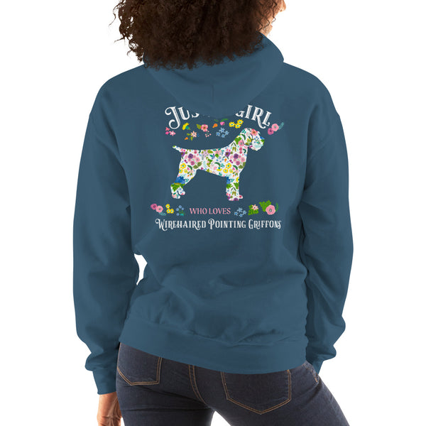 JUST A GIRL Hooded Sweatshirt