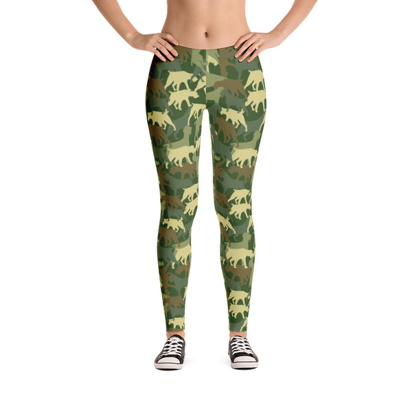 GREEN CAMO leggings (available in Europe)