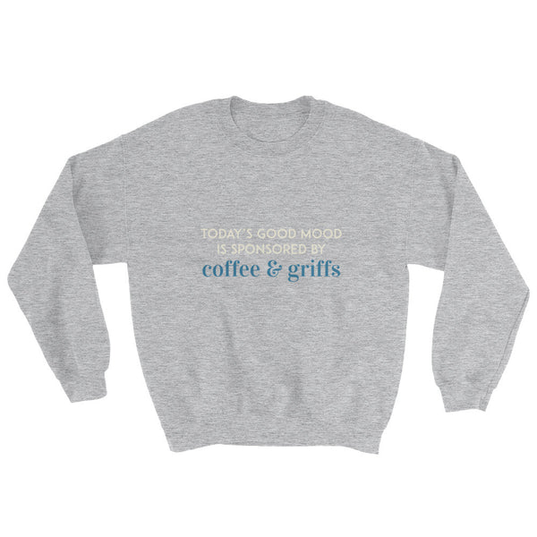 COFFEE & GRIFFS sweatshirt