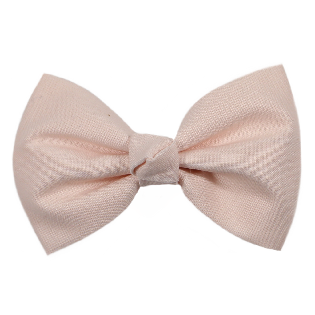 Shell Pink Ballet Bow