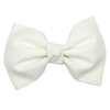Cream Ballet Bow Clip