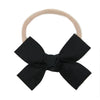 Black Loop Bow Headband