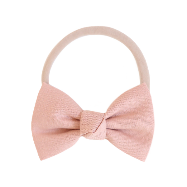Signature Blush Bow Headband